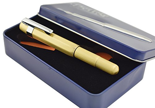 xtra Fine 0.38 mm Pocket Pen for Business Signature in Metal Gift Box ()