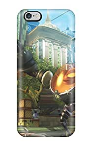 2361832K71611961 Iphone 6 Plus Ratchet And Clank Print High Quality Tpu Gel Frame Case Cover