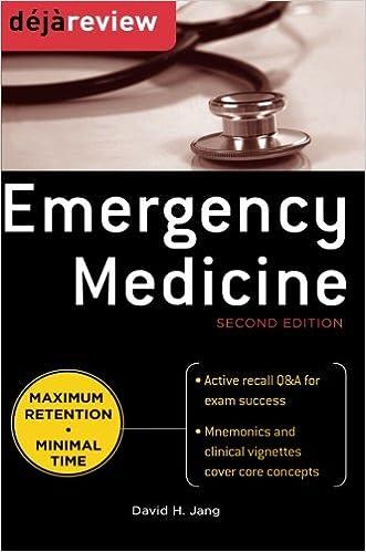 Kết quả hình ảnh cho Deja Review - Emergency Medicine