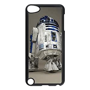 ipod touch 5 phone cases Black Star Wars R2D2 cell phone cases Beautiful gift YTRE9359535