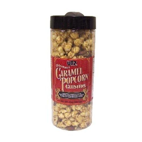 4 - 19 Oz. Barrels of Caramel Popcorn Clusters by Full Maker