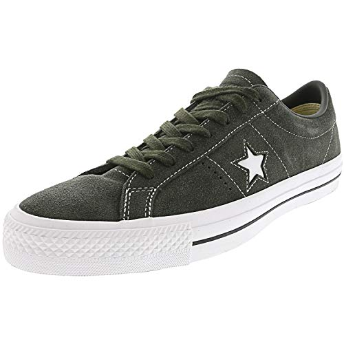 Converse One Star Pro Ox Sequoia/White Skate Shoes Men's 10M/Women's 12M (Star Ox Shoes)