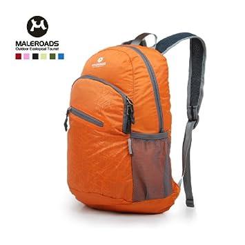 ec898581bc forwardMai Lushi new outdoor climbing backpack bag men and women daily  small ultralight backpack leisure folding backBlack  Amazon.co.uk  Sports    Outdoors