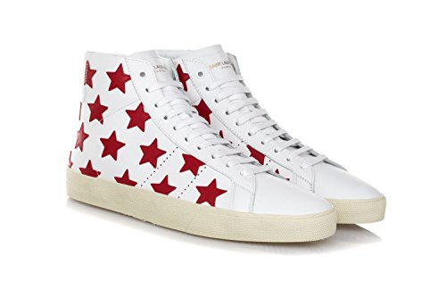 Scarpe Uomo Sneakers 06m Bianco 'california' Laurent Sl Classic Saint Court 7v5Tqnxww