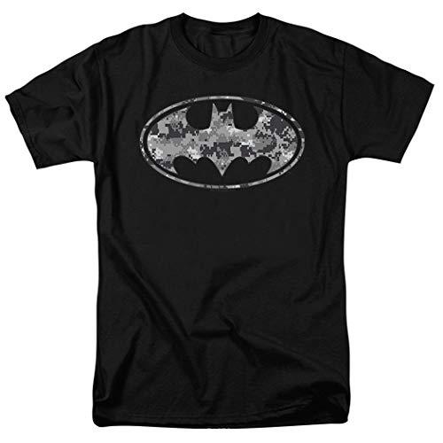 Batman Urban Digital Camo DC Comics T Shirt (Medium)