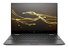 "NEW 2018 HP Spectre x360 2-in-1 15.6"" 4K UHD Touch-Screen Laptop - Intel i7-8550U, 16GB DDR4, 512GB PCI-e SSD, NVIDIA 2GB GDDR5 MX150, Thunderbolt-Bang & Olufsen Audio, HP Stylus, Dark Ash Silver"