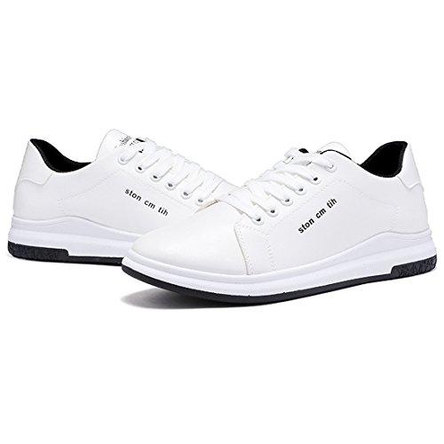 Board Antiskid Casual 3 Sneakers WEONEDREAM Wear Skateboard Shoes Mens Resistant White 1xq5WawS