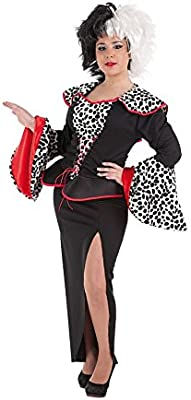LLOPIS - Disfraz Adulto cruela: Amazon.es: Juguetes y juegos