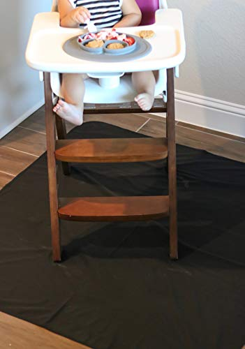 Price comparison product image Waterproof Splash Mat - A Catch-All for Highchair Spills