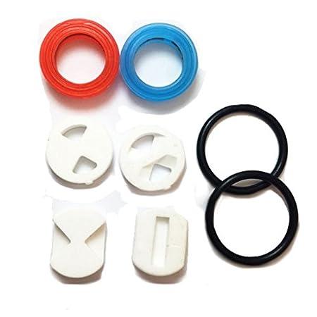 Replacement Ceramic Tap Cartridge Repair Kit includes Disc,Silicone ...
