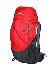 Berghaus Freeflow Backpacks, Extreme Red/Carbon, 30 L