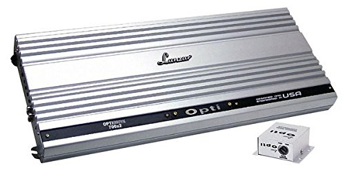 Lanzar OPTI700X2 Optidrive 2800 Watt 2 Channel Competition Class Mosfet Amplifier