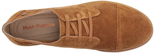 Hush Puppies Womens Aiden Clever Oxford Camel GDWdjXW5