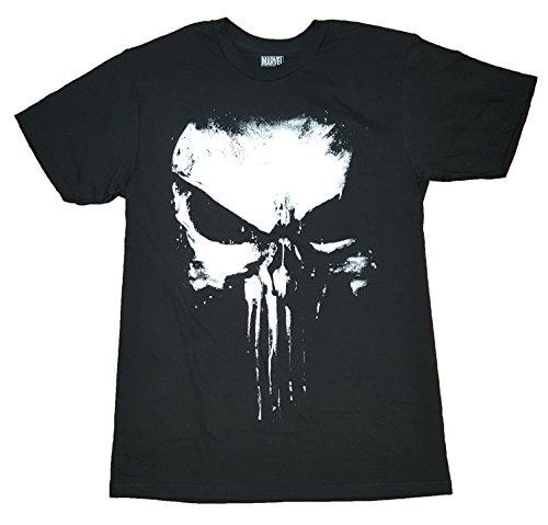 Marvel Comics Punisher Darkest Fear Black Graphic T-Shirt - 3XL