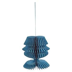 Decorative Paper Hanging - Blue
