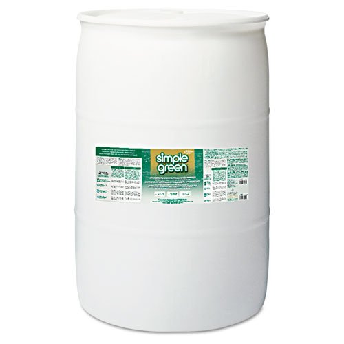 Simple Green 2700000113008 Concentrated Original Formula Cleaner/Deodorizer, 55 gal, Drum by Simple Green