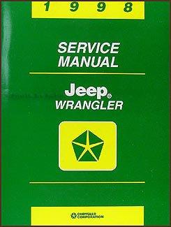 1998 jeep wrangler repair shop manual original jeep 1989 to date rh amazon com 1998 jeep wrangler factory service manual 1998 jeep wrangler service manual free download