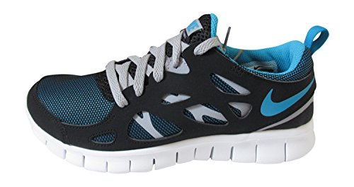 Nike Nike Free Run 2 Gs - Zapatos  para hombre black blue lagoon wolf grey 040
