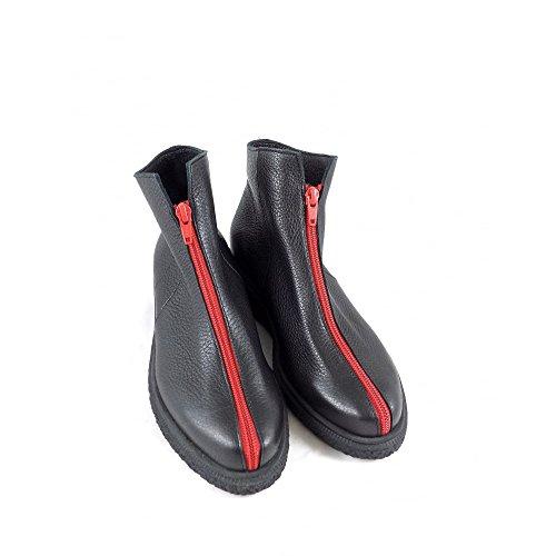 Pour Bottes Arche Black red Femme qYx7Zw5