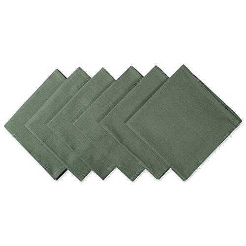 Green Flower Plates Set (DII Oversized 20x20