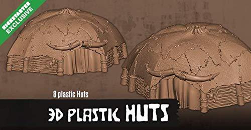CMON KICKSTARTER Exclusive HATE Board Game Plastic Huts