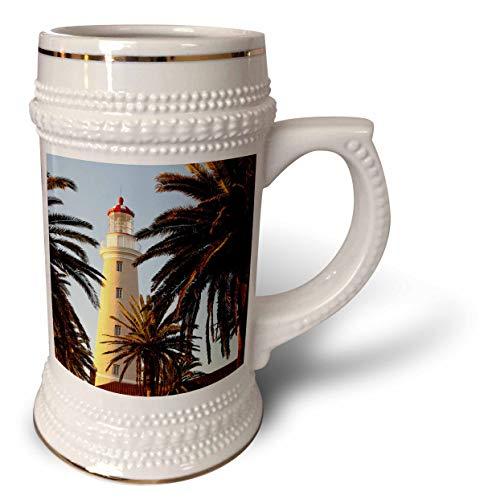 (3dRose Danita Delimont - Uruguay - East Point Lighthouse, Punta Del Este, Uruguay, South America - 22oz Stein Mug (stn_314401_1))