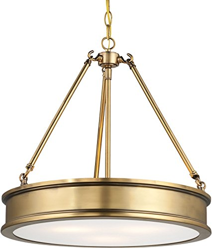 Minka Lavery Pendant Ceiling Lighting, Harbour Point 4173-249 Drum (18