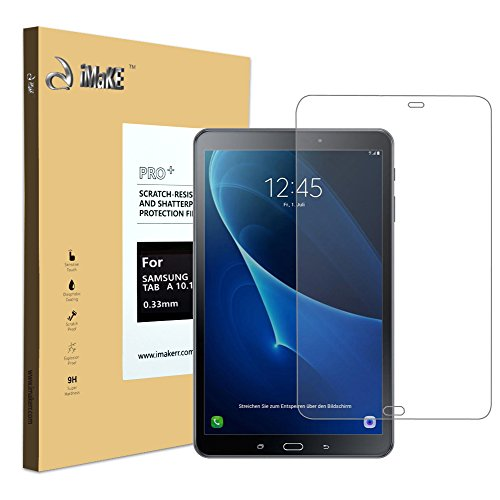 Galaxy Tab A 10.1 Screen Protector, aiMaKE Ultra Clear Premium Tempered-Glass Screen Protector for Samsung Galaxy tab A 10.1 2016 [Lifetime warranty]