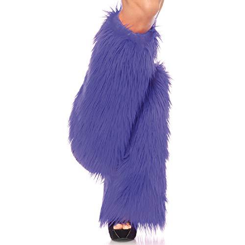 Leg Avenue Womens Furry Leg Warmers -