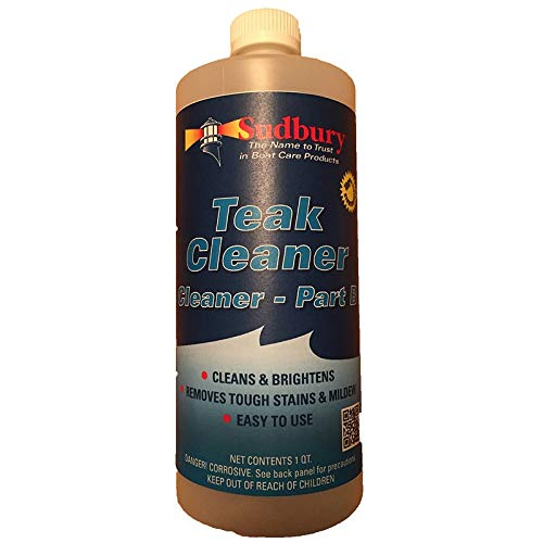 Sudbury Teak Cleaner Part B - Quart