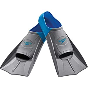 Well-Being-Matters 412zSLQF32L._SS300_ Speedo Unisex Swim Training Fins Rubber Short Blade