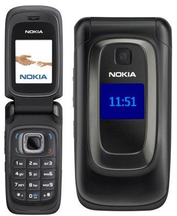 Nokia Flip Phone >> Nokia 6086 Unlocked Gsm Flip Phone With Wi Fi Vga Camera Fm Radio