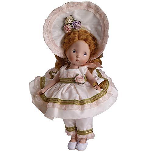 "PHYN & AERO LLC Little Bo Peep Nancy Ann 6"" Porcelain Doll Limited w/ Gold Foil Wrist Tag"