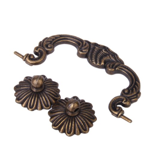 Antique Brass Cabinet Door Drawer Handles 130mm by Generic - Cabinet And  Furniture Knobs - Amazon.com - Antique Brass Cabinet Door Drawer Handles 130mm By Generic - Cabinet