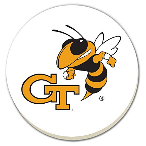NCAA Georgia Tech Yellow Jackets Absorbent Coaster - Pack Of 4
