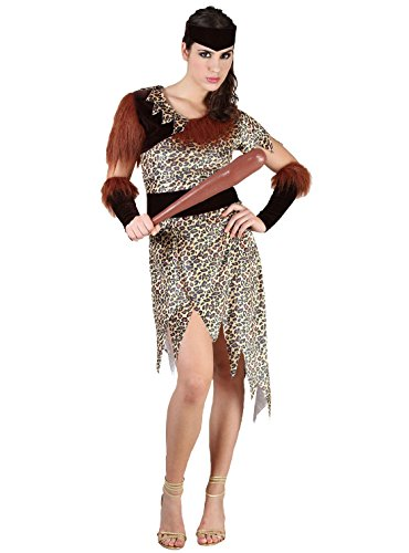 Rimi Hanger Womens Old Age 10000 BC Costume Ladies Cave People Fancy Dress Party Costume One Size