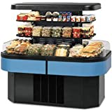 Federal Industries IMSS60SC-3 Specialty Display Island Self-Serve Refrigerated Merchandiser