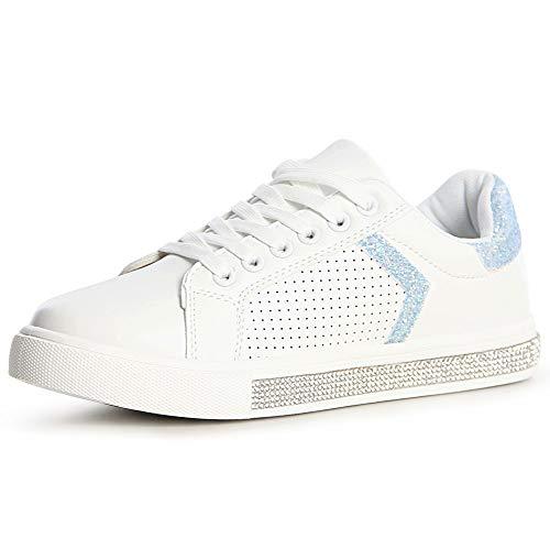Azzurro Topschuhe24 Topschuhe24 Chiaro Topschuhe24 Sneaker Donna Azzurro Chiaro Sneaker Azzurro Sneaker Topschuhe24 Donna Donna Chiaro dAqxIFwF