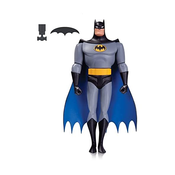 DC Collectibles The Animated Series Batman Action Figure, Multi Color