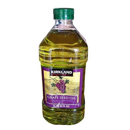 Kirkland Signature Kirkland firma de uva aceite de semilla de 1.84kg