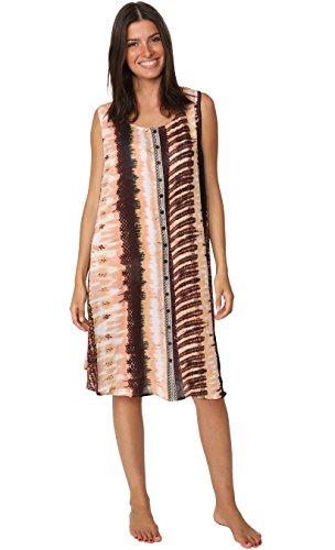 batik chiffon dress - 1