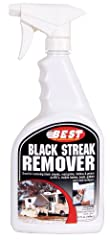 Easily removes black streaks, tar and road grime build up on any RV with minimal rubbing. Also great for tires, white walls, wheels and gutters. Environmental Products of America's Black Streak Remover is safe for use on fiberglass, metal and...