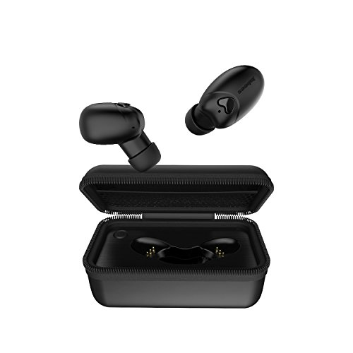 Bluetooth V5.0 True Wireless Earbuds with Portable Charging