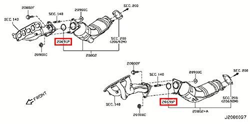 2006 nissan pathfinder catalytic converter diagram 1 rooms