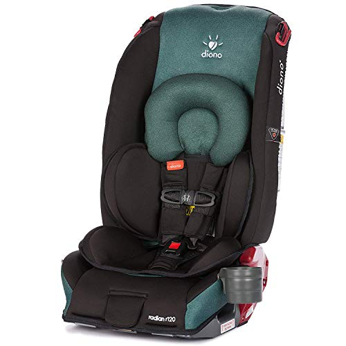 Diono Radian R120 All-in-One Convertible Car Seat, for Children from Birth to 120 pounds, Black Forest