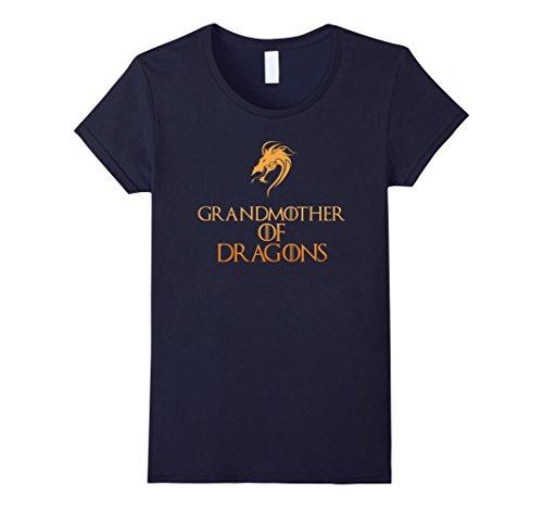 Costume Grandma Baby Halloween (Womens Grandmother Of Dragons T-Shirt Halloween Costume Top Tee Large)