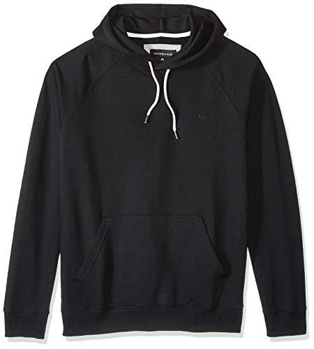 Quiksilver Men's Everyday Hood Fleece Top, Black XL