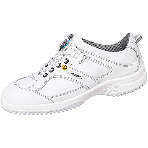 """Abeba 31770-38 misura 96,52 cm (38"""") ESD-15,24 cm (6"""") Low-Scarpe di sicurezza, colore: bianco"""