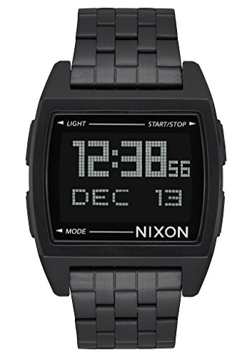 nixon-base-a1107-001-black-black-stainless-steel-digital-quartz-unisex-watch