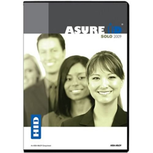 Asure Id Solo 2009 Entry Level Card Personalization Software Also Serves As Sof